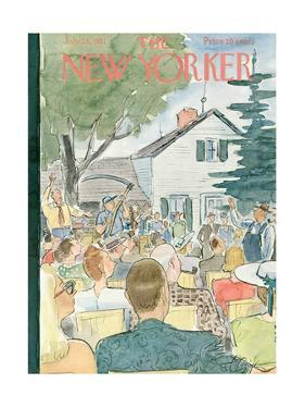 The New Yorker Cover - July 28, 1951 by Perry Barlow
