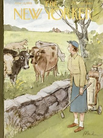The New Yorker Cover - June 11, 1955