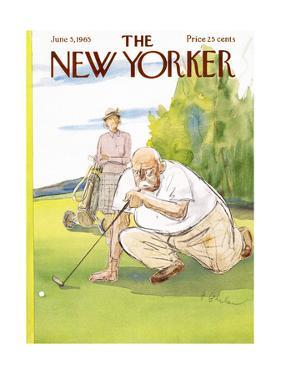 The New Yorker Cover - June 5, 1965 by Perry Barlow