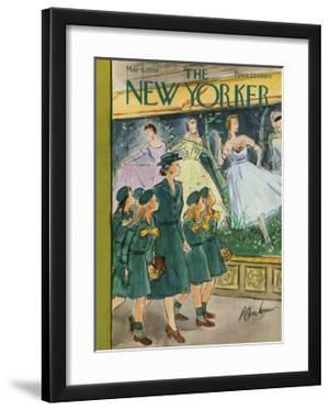 The New Yorker Cover - May 9, 1959 by Perry Barlow