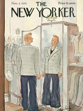 The New Yorker Cover - November 3, 1945 by Perry Barlow