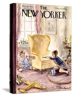 The New Yorker Cover - October 10, 1942 by Perry Barlow