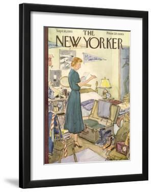 The New Yorker Cover - September 10, 1955 by Perry Barlow