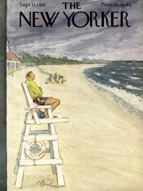 The New Yorker Cover - September 13, 1952 by Perry Barlow