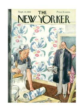 The New Yorker Cover - September 23, 1939 by Perry Barlow