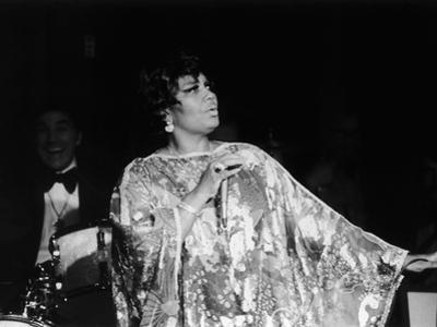 Legendary Performer Pearl Bailey Dazzles Her Audience, 1975