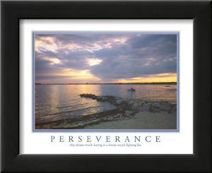 Perseverance Any Dream Worth Having Motivational