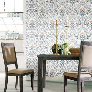 PERSIAN DAMASK REMOVABLE WALLPAPER