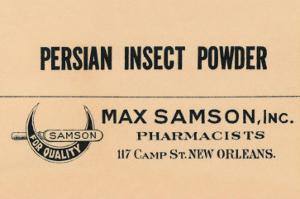 Persian Insect Powder