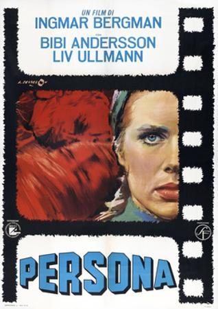 Persona, Italian poster, Liv Ullmann, 1966