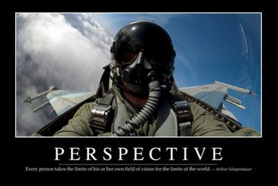 Perspective: Inspirational Quote and Motivational Poster