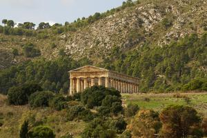 Greek Temple in the Ancient City of Segesta, Sicily by perszing1982