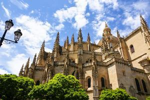 Segovia Cathedral, A Roman Catholic Religious Church in Segovia, Spain. by perszing1982