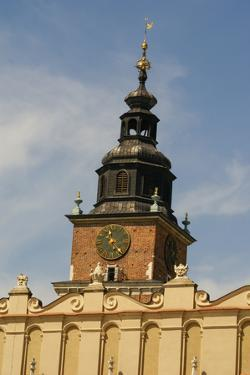 The St Mary Church at the Market in Krakow in Poland by perszing1982