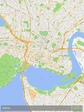 Perth, Australia Map