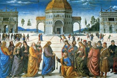 Delivery of the Keys to Saint Peter, 1481
