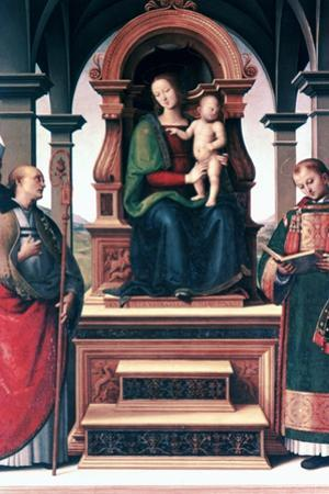 Madonna and Child with Saints, C1470-1523