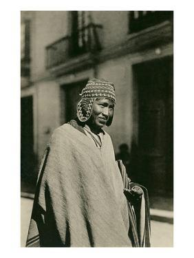 Peruvian Indian Man in Hat