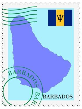 Mail To-From Barbados by Perysty