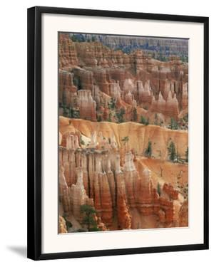 Hoodoo Sandstone Structures, Bryce Canyon National Park, Utah, USA by Pete Cairns