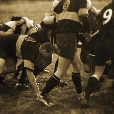 Rugby Game II by Pete Kelly