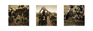 Rugby Game Triptych by Pete Kelly