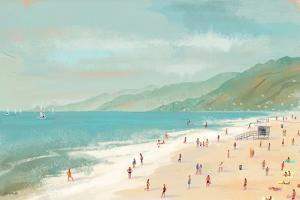 Santa Monica Beach by Pete Oswald