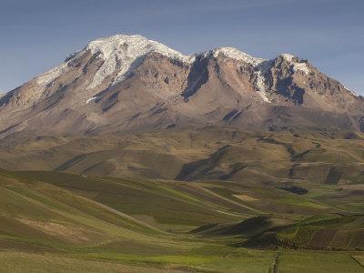 Chimborazo Mountain (6310 Meters) the Highest Mountain in Ecuador, Chimborazo Reserve, Ecuador