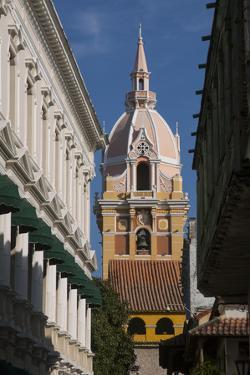 Colonial Architecture Within Cartagena, Atlantico Province. Colombia by Pete Oxford