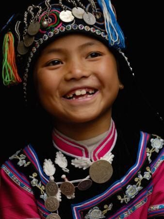 Hani People, Yuanyang, Honghe Prefecture, Yunnan Province, China by Pete Oxford