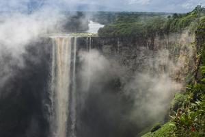 Kaieteur Falls, Located on the Potaro River in the Kaieteur National Park in Essequibo by Pete Oxford