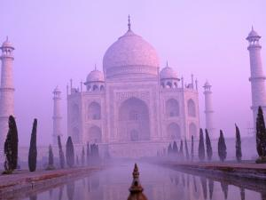 Taj Mahal at Dawn, Agra, India by Pete Oxford