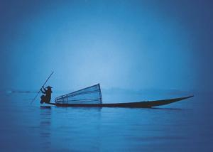 Inle Lake, Shan State, Myanmar by Pete Turner
