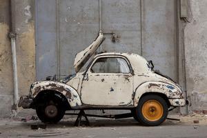 1948 Fiat Torbelino Car, Restoration Project, Alexandria, Egypt by Peter Adams