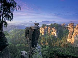 Bastei Rocks, Swiss Saxony, Germany by Peter Adams