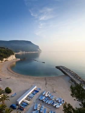 Beach, Sirolo, Marche, Italy by Peter Adams