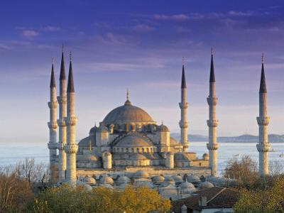 Blue Mosque, Istanbul, Turkey by Peter Adams