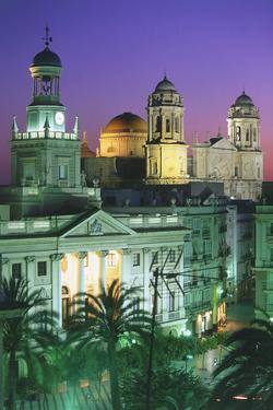 Buildings in Cadiz by Peter Adams