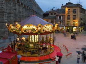 Carousel, Segovia, Castilla Y Leon, Spain by Peter Adams