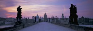 Charles Bridge, Prague, Czech Republic by Peter Adams