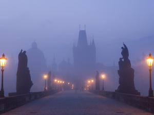 Charles Bridge, Prague, Czech Republic by Peter Adams