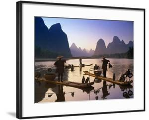Cormorant, Fisherman, China by Peter Adams