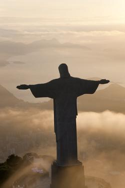 Cristo Redentor, Christ the Redeemer, Brazil by Peter Adams