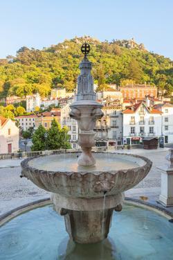 Fountain in Sintra, Near Lisbon, Portugal by Peter Adams
