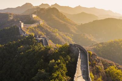 Great Wall; Jinshanling; Beijing; China by Peter Adams