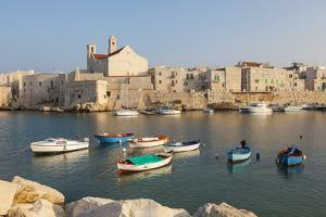 Harbor, Giovinazzo, Puglia, Italy by Peter Adams