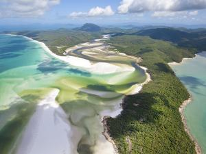 Hill Inlet, Whitsunday Islands, Queensland, Australia by Peter Adams