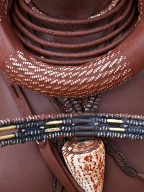 Himba Woman, Kaokoland, Namibia by Peter Adams