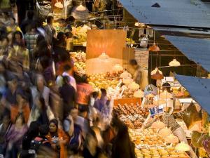 Hong Kong, Kowloon, Mongkok, Fa Yuen Street Market, China by Peter Adams