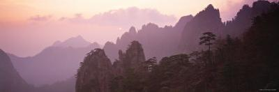 Huang Shan Mountains, Anhui Province, China by Peter Adams